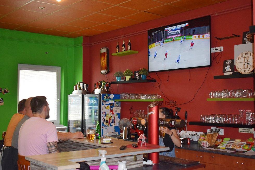 Tipsport bar u Jednoty.