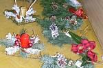 Vánoční soutěž v aranžování v ISŠ Jesenice