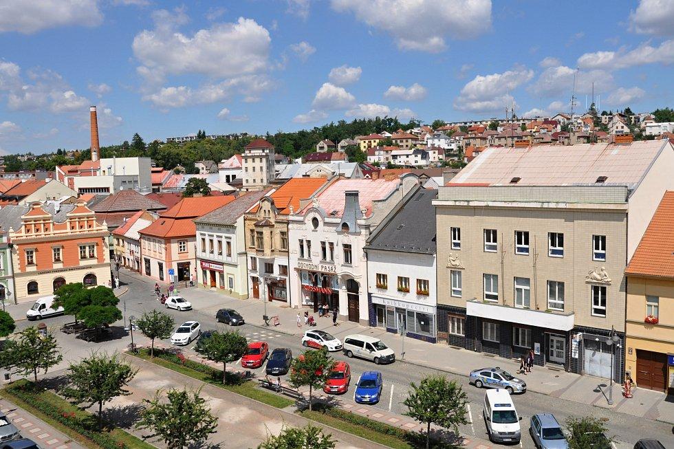 Město Rakovník.