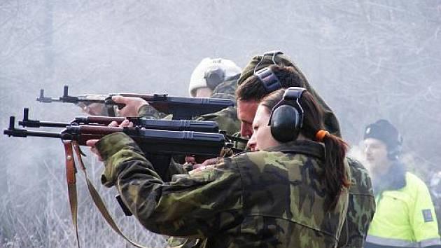 Střelecká soutěž na Rudě