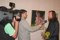 Malíř Václav Zoubek vystavuje v Mladé Boleslavi