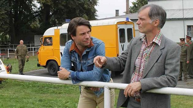 Natáčení v Srbči