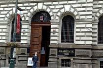 Hlavní budova Akademie věd ČR