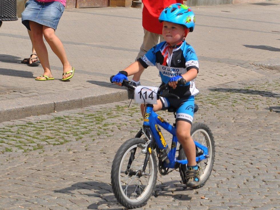 Downhill se prolínal s cross-country dětí