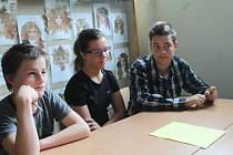 Návštěva finských školáků v ZŠ Křivoklát