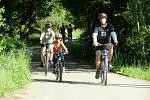Cyklisté vyrazili na cyklostezky.