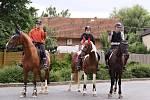 Tradiční jezdecké tábory v hředelském JK Spongilit.