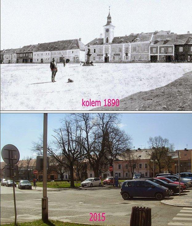 Komenského náměstí.