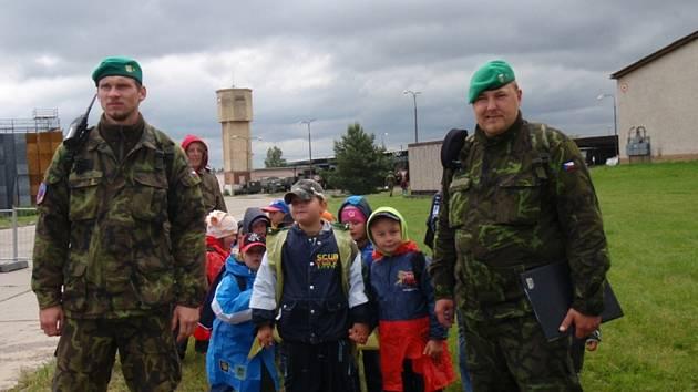 Vojáci pořádali Den otevřených dveří