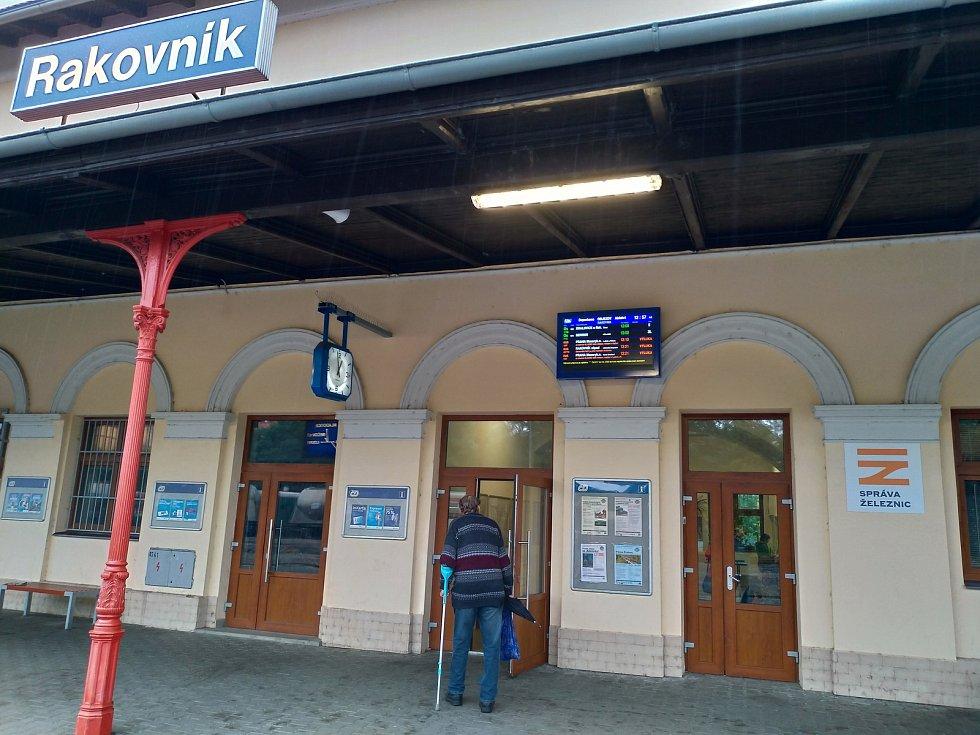 Železniční stanice v Rakovníku