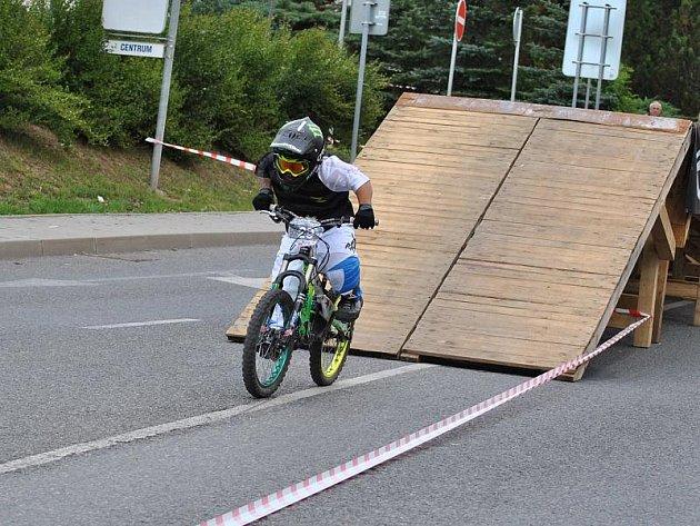 Rakovnické cyklování - Downhill