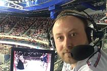 Reportér ČR Radiožurnál František Kuna komentuje MS v hokeji.