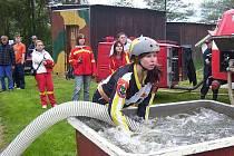 Okrsková soutěž hasičů ve Zdeslavi
