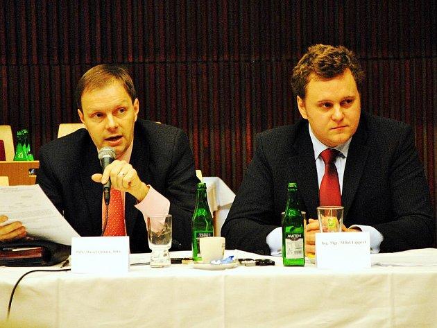 Marcel Chládek (vlevo) s Milošem Lippertem