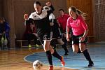 Futsalistky Olympie si v posledních dvou zápasech divize žen s chutí zastřílely. Kolín zničily 12:0, Slaný 11:1.