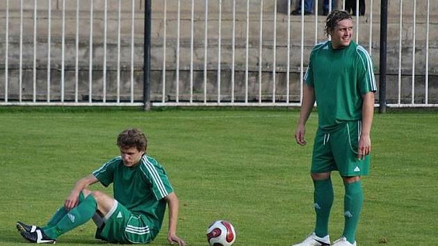 Petr Vecka (vlevo) a Jan Vrábík jsou pro Tatran oporami, kdy se udzraví?