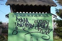Řádění vandalů v Novém Strašecí