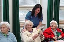 Sváteční chvíle v Domově pro seniory Rakovník