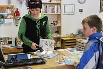 Běžný den v knihovně v Městské knihovně v Novém Strašecí