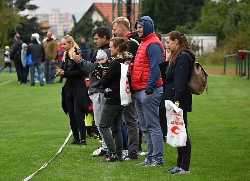 Na hřišti na Zátiší v Rakovníku se uskutečnil Dětský sportovní den, který uspořádali rakovničtí ragbisté.