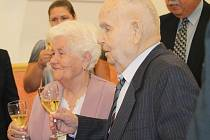 Diamantová svatba Marie a Stanislava Jetenských v Čisté