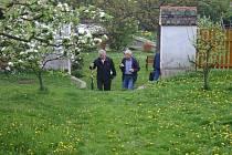 Otevření farní zahrady v Rakovníku