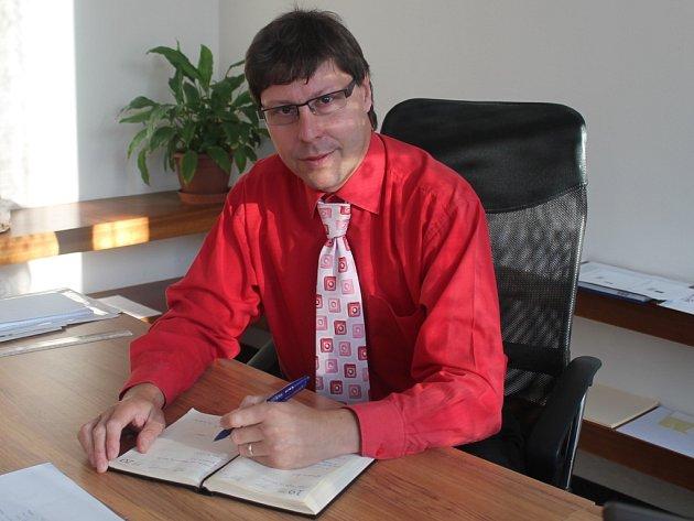 Nový ředitel SPŠ Rakovník Jan Jirátko