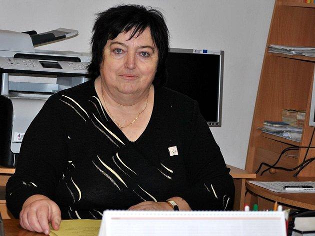 Jaroslava Čechová, starostka obce Malinová
