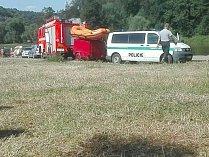 Muž utonul v řece Berounce poblíž kempu Višňová.