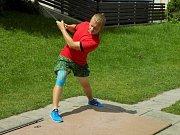 Ondřej Škaloud -talentovaný minigolfista