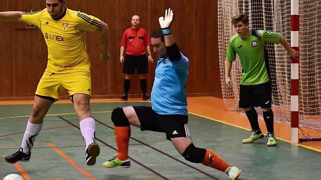 Futsalisté Atlanticu prohráli v prvním novoročním kole divize s Kobylisy 3:12.
