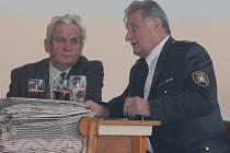 Jiří Beneš a Václav Monhart v Malinové