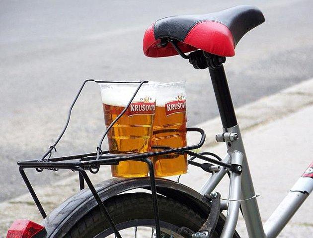 Pojízdný výčep Krušovického pivovaru