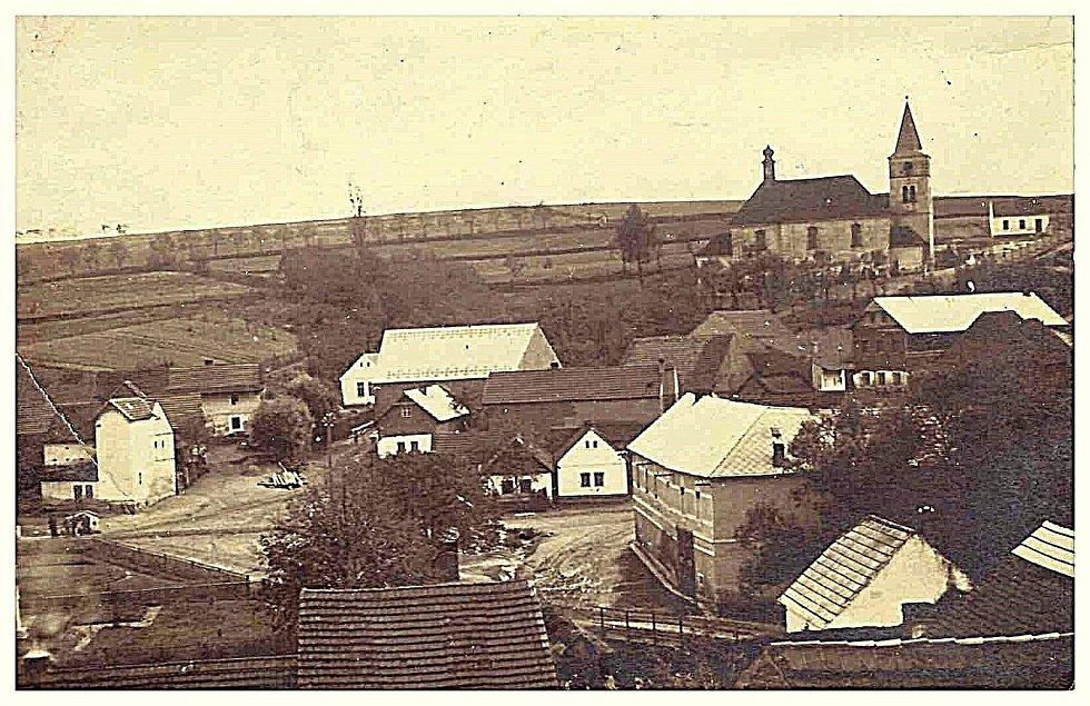 Pohled na Šanov v roce 1936.
