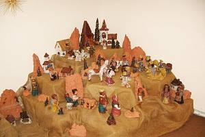 Betlémy v muzeu.