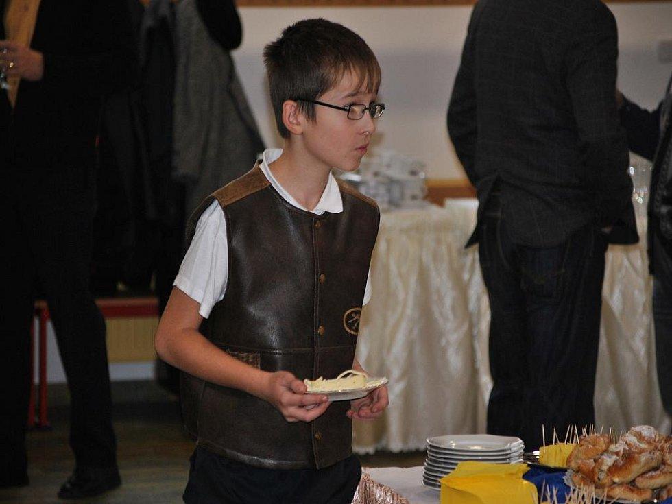 Slavnostní otevření jídelny