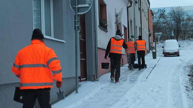 Sníh v Rakovníku