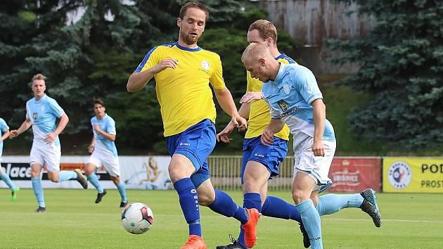 Z divizního fotbalového utkání SK Rakovník - Jindřichův Hradec (1:2)