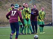 Fotbalisté Hředel prohráli v přípravném duelu s Družcem 0:11.