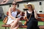 Oslavy pětistého výročí založení pivovaru na hradě Křivoklátě.