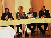 Ustavující zasedání novostrašeckého zastupitelstva.