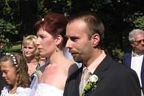 Karolína Zoubková a Petr Kučera.