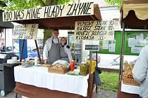 Pátý ročník Zázraků vína na Komenského náměstí v Novém Strašecí.