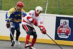 Rakovničtí hokejbalisté porazili pražské KOVO po samostatných nájezdech.