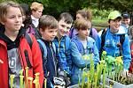 Okresní botanická soutěž přilákala děti z deseti základních a středních škol.