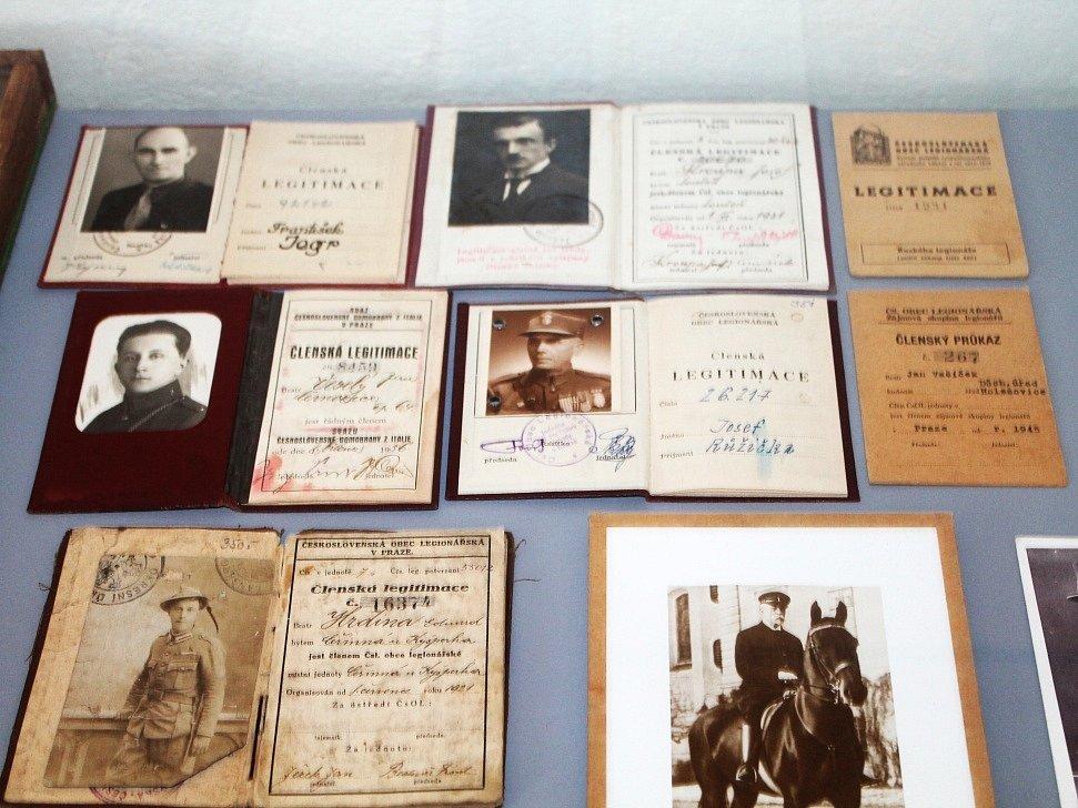 Výstava První světová válka v roubence Lechnýřovna