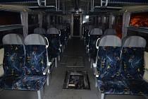 Požár ve vlaku Rakovník -  Kladno