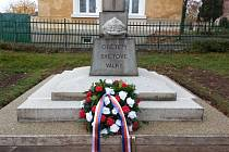 Pomník v Mutějovicích