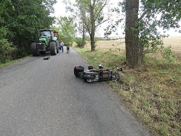 Nehody motorkářů. Ilustrační foto.