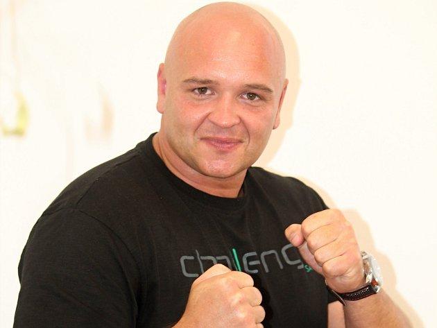 Radek Červený, trenér boxu.